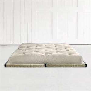 Lit Japonais Ikea : matelas futon latex 160 2 tatamis achat vente futon pas cher couleur et ~ Teatrodelosmanantiales.com Idées de Décoration