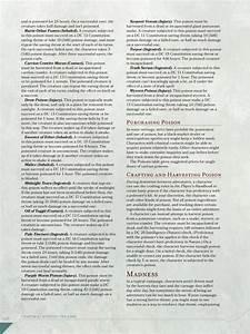 5e Dmg Preview - Poisons