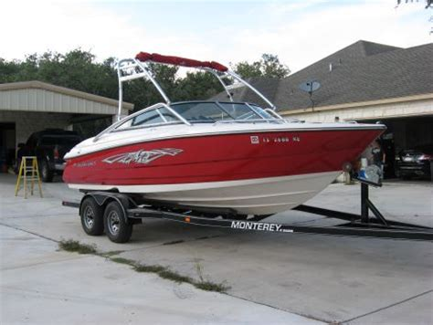 Used Monterey Boats For Sale By Owner by Boats For Sale By Owner 2009 21 Foot Monterey 214 Fs