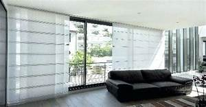 Rideau Pour Baie Vitrée : rideau pour baie vitree idee rideaux pour baie vitree ~ Dailycaller-alerts.com Idées de Décoration