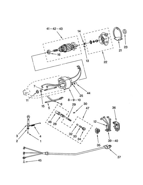 Kitchenaid Stand Mixer Parts Diagram Wow Blog