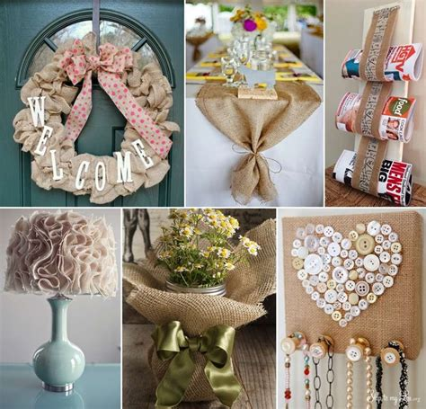 fabulous diy burlap decor ideas  youll love