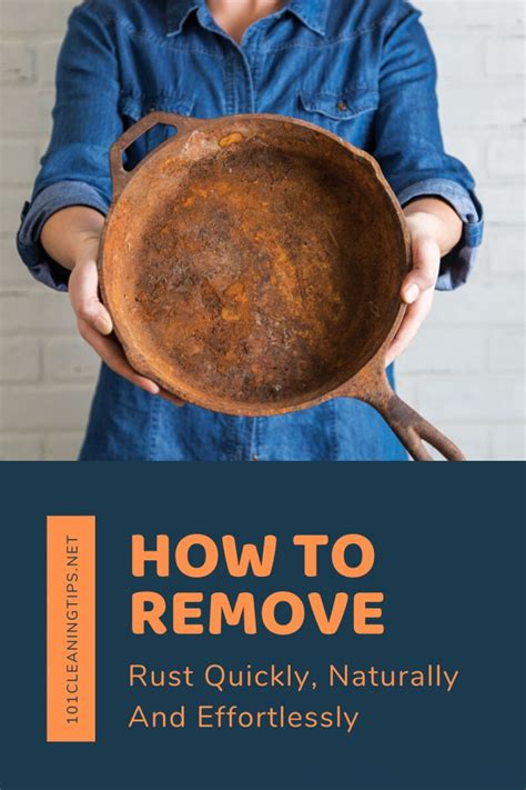 rust remove 101cleaningtips naturally dish effortlessly quickly