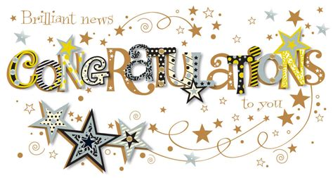Brilliant News Congratulations To You Greeting Card ...