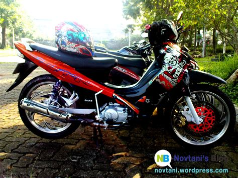 Modifikasi Motor by Modifikasi Yamaha Jupiter Z 110 Cc Tahun 2003 Novtani S