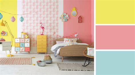 quelles couleurs pour une chambre maison du monde chambre fille kirafes