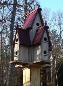 Manor Birdhouse Plans  U0026 Instructions