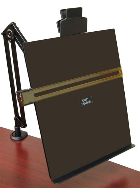 flex arm copy holder by aidata ergocanada detailed