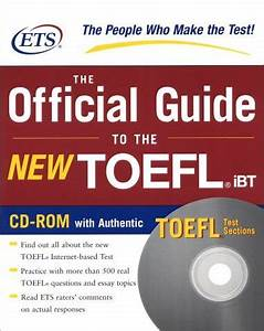 Free Download ETS The Official Guide To The New TOEFL