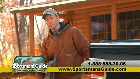 The Sportsman's Guide Tv Commercial, 'where Guys Shop