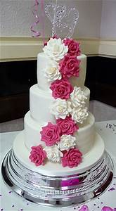beautiful white and pink wedding cakes (8) | Weddings Eve