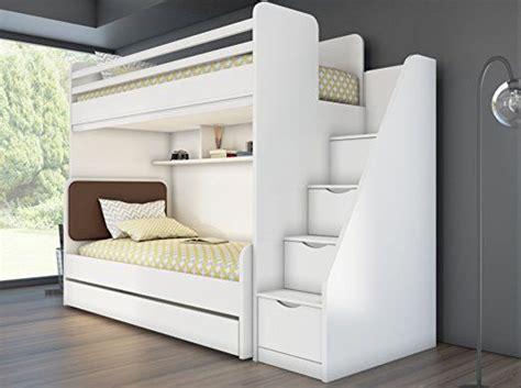 jugendbett mit gästebett und schubladen kinder jugend bett hochbett inkl regal treppe 7 jahre garantie neu hochbett hochbett bett