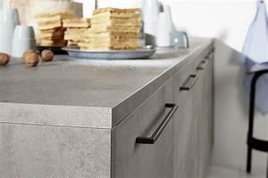 Arbeitsplatte Küche Betonoptik : planungsdetail fronten arbeitsplatte und wangen in betonoptik ~ Sanjose-hotels-ca.com Haus und Dekorationen