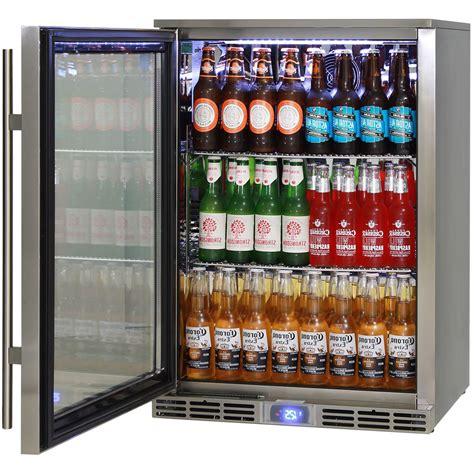 bar fridge alfresco outdoor rhino glass door bar fridge energy