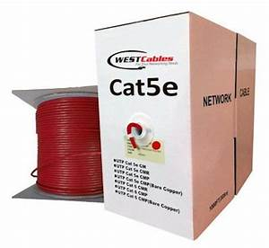 1000 Ft Cat5e Plenum Utp Ethernet Cable  With Images