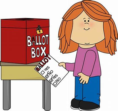 Voting Box Clipart Ballot Vote Clip Putting