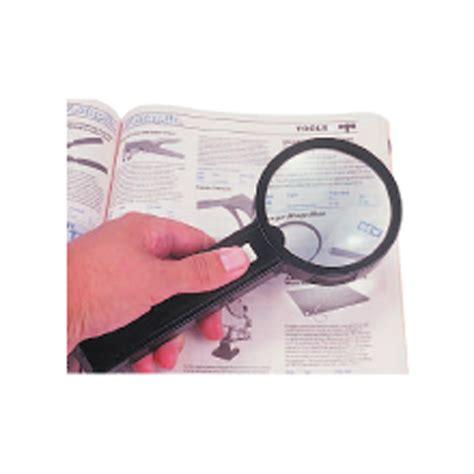 illuminated glass magnifier x2 5 lens reading loupe led