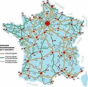Carte De France Autoroute : carte de france france carte des villes r gions politique routes ~ Medecine-chirurgie-esthetiques.com Avis de Voitures