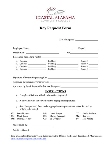 Fill - Free fillable forms: Coastal Alabama Community College