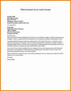 3 Office Assistant Cover Letter Assistant Cover Letter Administrative Assistant Cover Letter Examples Sample Executive Assistant Cover Letter 9 Download Free Administrative Assistant Cover Letter Sample Assistant