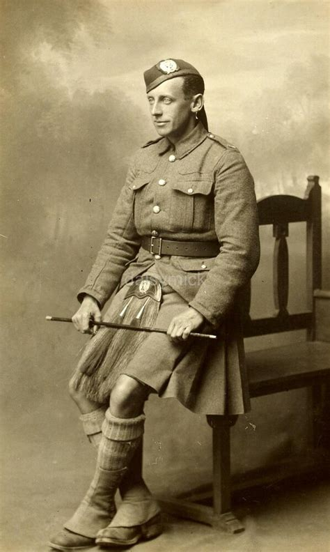 british soldier  london scottish kilt army empire