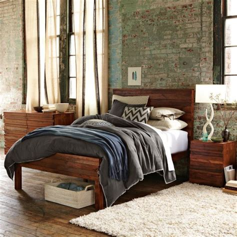 West Elm Stria Bed home improvement goals for 2013 pt 2