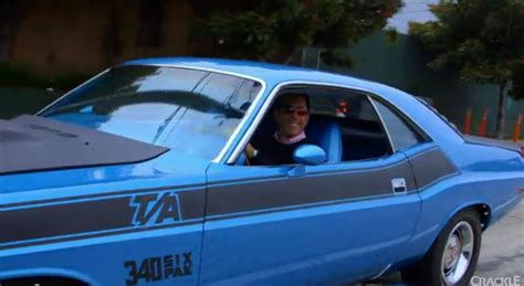 1970 Dodge Challenger T/A on Comedians In Cars Getting Coffee   Mopar Blog