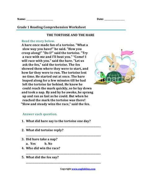 free printable reading comprehension worksheets first grade worksheets first grade reading comprehension worksheets