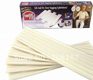 Sofa support boards smalltowndjscom for Sagging sofa bed cushion support