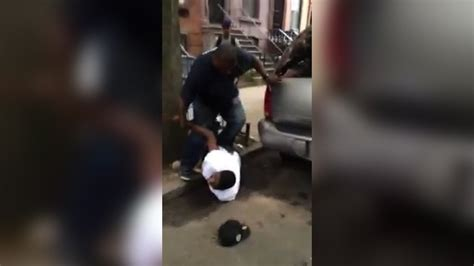 Cop Knocks Teen Unconscious For Smoking A Fucking