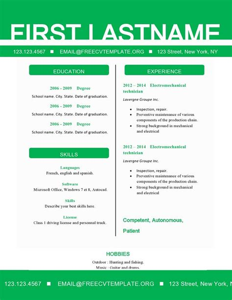 what needs to be on a resume resume ideas