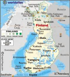 geography and population of finland To the page containing the population growth statistics of the country to the page containing the historical population growth statistics of the provinces.