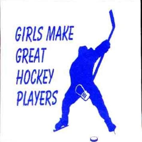 girl hockey player quotes