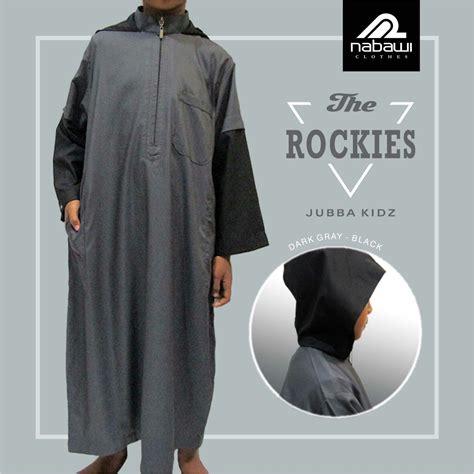baju gamis jubah anak laki laki nabawi the rockies murah