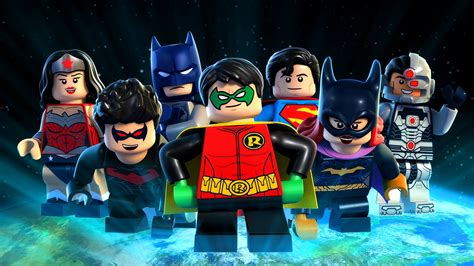 lego dc comics super heroes justice league gotham city breakout  backdrops