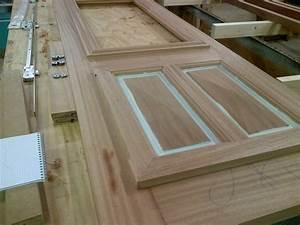 fabrication d une porte entr e ch ne massif couleurs bois With fabrication d une porte en bois