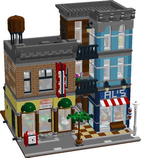 10246 Detective's Office  Page 10  Lego Town