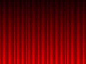 Red curtain powerpoint template curtain menzilperdenet for Red curtain background powerpoint