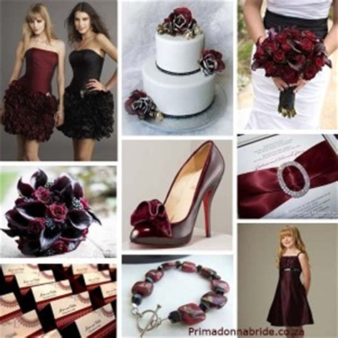 Can I Please See Your Black And Burgundy(deep Red) Decor?
