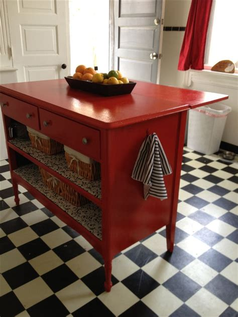 antique island for kitchen best 25 dresser kitchen island ideas on