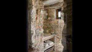 idee design pour les salles de bains pensez pierres et With salle de bain design avec pierres décoratives jardin