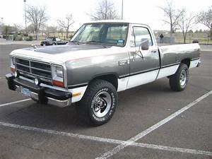 1985 Dodge D250 Power Ram Royal Se  Not Diesel Cummins  1990  1991  1992  1993 For Sale In El