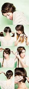 Tresse Facile à Faire Soi Même : faire des coiffures simples soi meme ~ Melissatoandfro.com Idées de Décoration