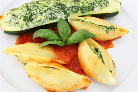gefuellte zucchini mit ricotta und spinat flexibles