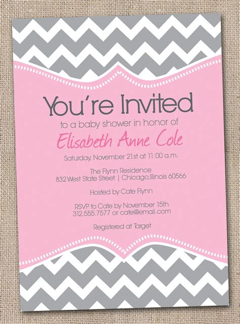 baby invitation template free printable template for baby shower invitations