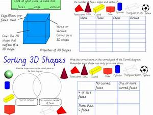 Properties Of 3d Shapes And Venn And Carroll Diagrams