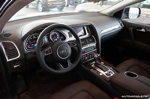 Audi Q7 Interieur : actu l 39 audi q7 arrive chez ennakl ~ Nature-et-papiers.com Idées de Décoration