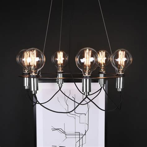 Contemporary White Chandelier by 6 Light Minimal Contemporary Chandelier E2 Contract