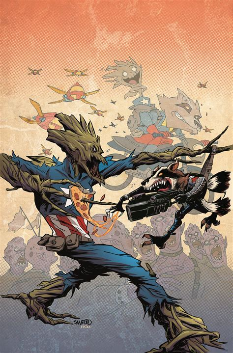 groot and rocket take over marvel s variants in november