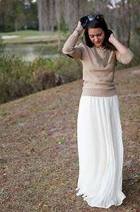 Long And Maxi Skirts Outfit Ideas 2018   FashionTasty.com